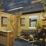 Cremial - Diseño y Montaje de Stand Ecológico Modular - Feria - Asociación Castañas de la Medulas
