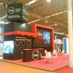 Diseño Stand, Expobiomasa , Montaje de Stand de diseño Libre Cremial