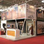 Diseño Stand, Ayuntamiento de Medina del Campo, Feria Intur , Montaje de Stand de diseño Libre Cremial