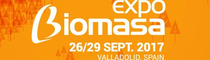 Feria expobiomasa 2017 en Valladolid - Cremial socio colaborador en la fabricación de stand de diseño