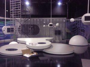 Cremial - Diseño y Montaje de Platos de Televisión - Vaya Tropa - Plató Cuatro TV