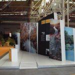 Diseño Stand, Diputación de Valladolid , Feria Intur , Montaje de Stand de diseño Libre Cremial