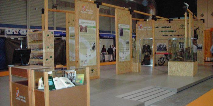 Cremial - Diseño y Montaje de Stand Ecológico Modular - Junta de Castilla y León
