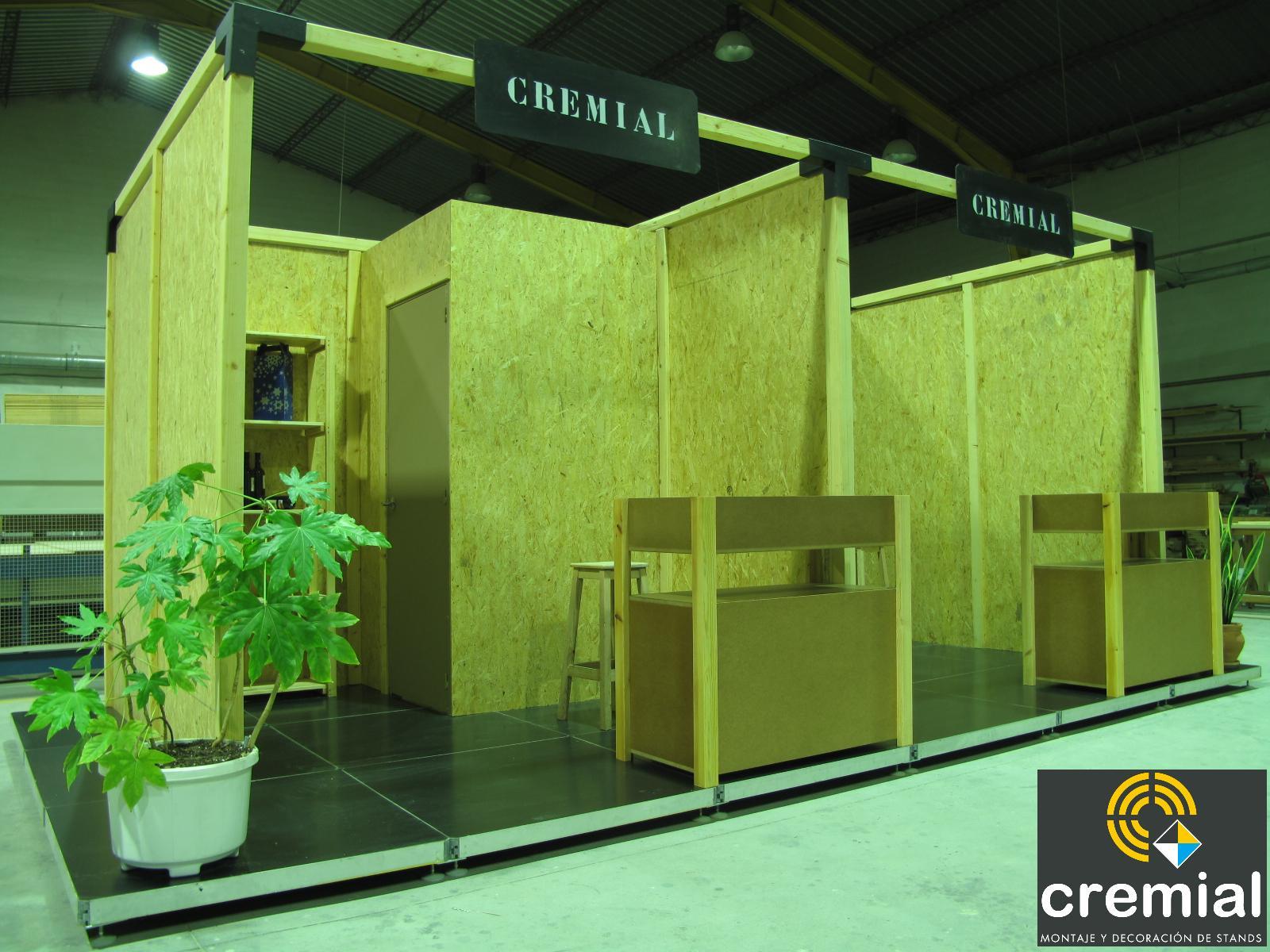 decoracion de stand ecologico