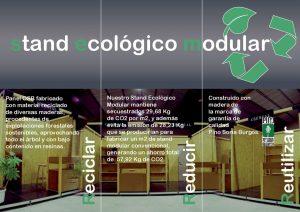 Triptico Cremial - Stand Ecológico Modular